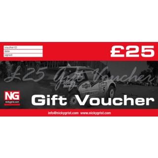 £25 Nicky Grist Gift Voucher