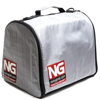 Nicky Grist Helmet & HANS Bag