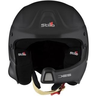 Stilo WRC DES - Matt Black Composite Rally Helmet