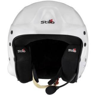 Stilo Trophy Des Plus - White/Black Composite Rally Helmet