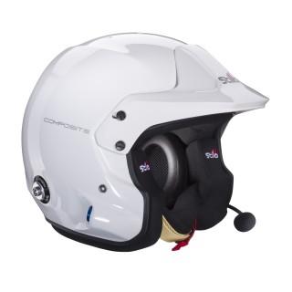 Stilo Venti Trophy Plus - White Composite Rally Helmet