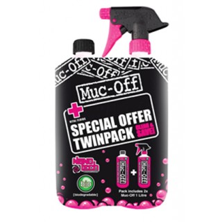 Muc-Off Cleaner Twin Pack