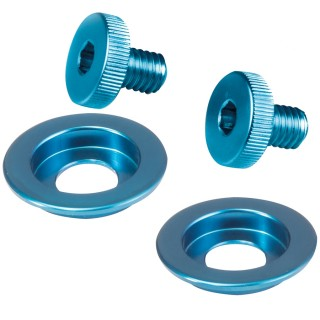 Stilo ST5 Visor and Sun Screen Screw Kit - Blue
