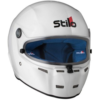 Stilo ST5 FN -  White Composite Formula Racing Helmet