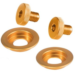 Stilo ST5 Visor and Sun Screen Screw Kit - Gold