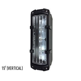 Lazer Reeded Lens - 15 Degrees - Vertical