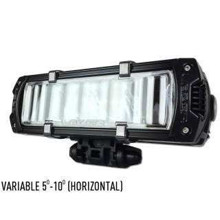 Lazer Reeded Lens - Variable (5/10 Degrees) - Horizontal