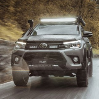 Lazer Lamps Toyota Hilux (2017+) Grille Kit