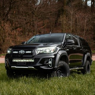 Lazer Lamps Toyota Hilux Invincible X Grille Kit