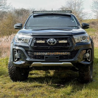 Lazer Lamps Toyota Hilux Roof Mounting Kit (Without Roof Rails)