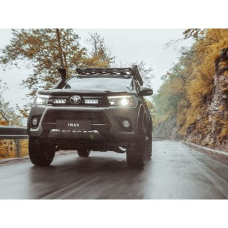 Lazer Lamps Grille Kit - Toyota Hilux (2017+)
