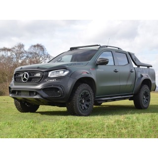 Lazer Lamps Mercedes X-Class Roof Mount Kit (With Roof Rails)