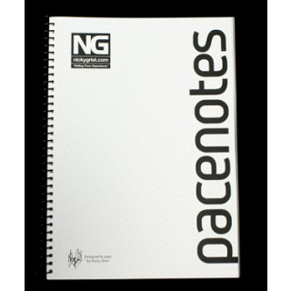 Nicky Grist Pacenote Book