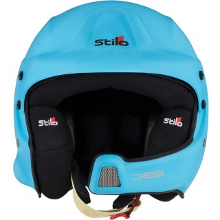 Stilo WRC DES - Blue Composite Rally Helmet