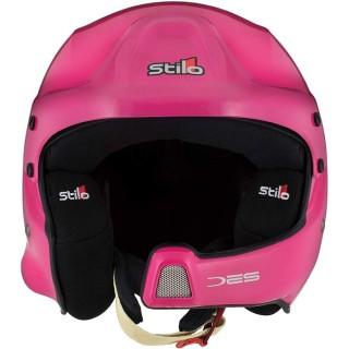 Stilo WRC DES - Pink Composite Rally Helmet