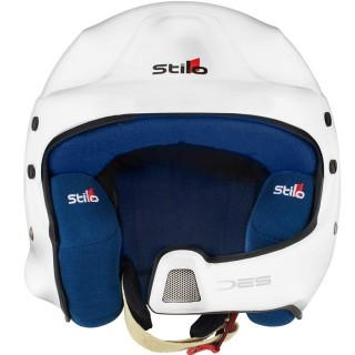 Stilo WRC DES - White Composite Rally Helmet