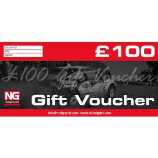 £100 - Nicky Grist Gift Voucher