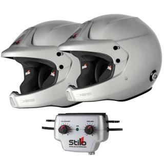Stilo WRC DES Helmet & WRC 03 Intercom Package