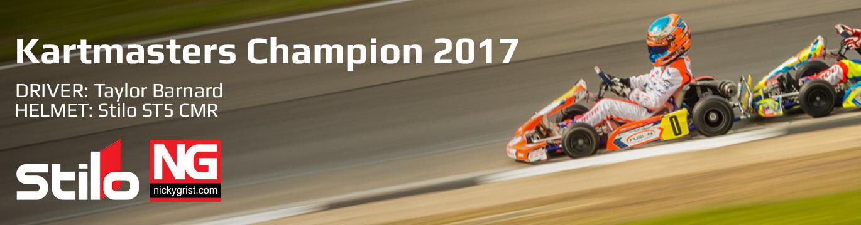Taylor Barnard Winning Kartmasters 2017 in Stilo ST5 CMR