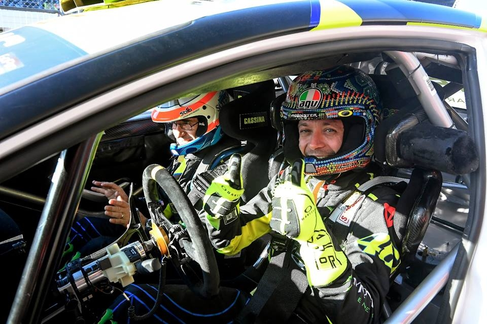 Rossi records record sixth rally win at Monza