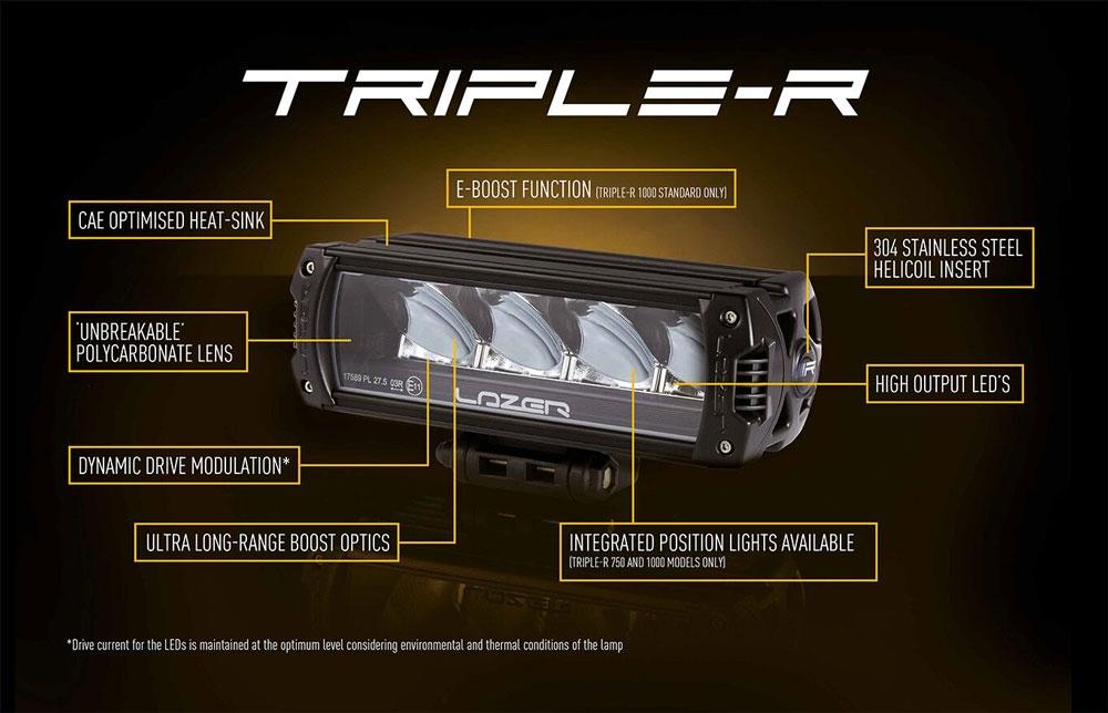Lazer Lamps Grille Kit - VW Transporter T6