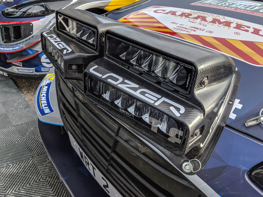 Lazer LED Lamps – lighting the way to victory for M-Sport ...