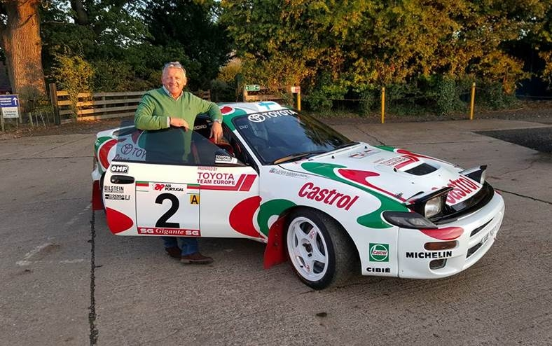 Nicky's Portugal winning Toyota to be displayed at Cholmondeley