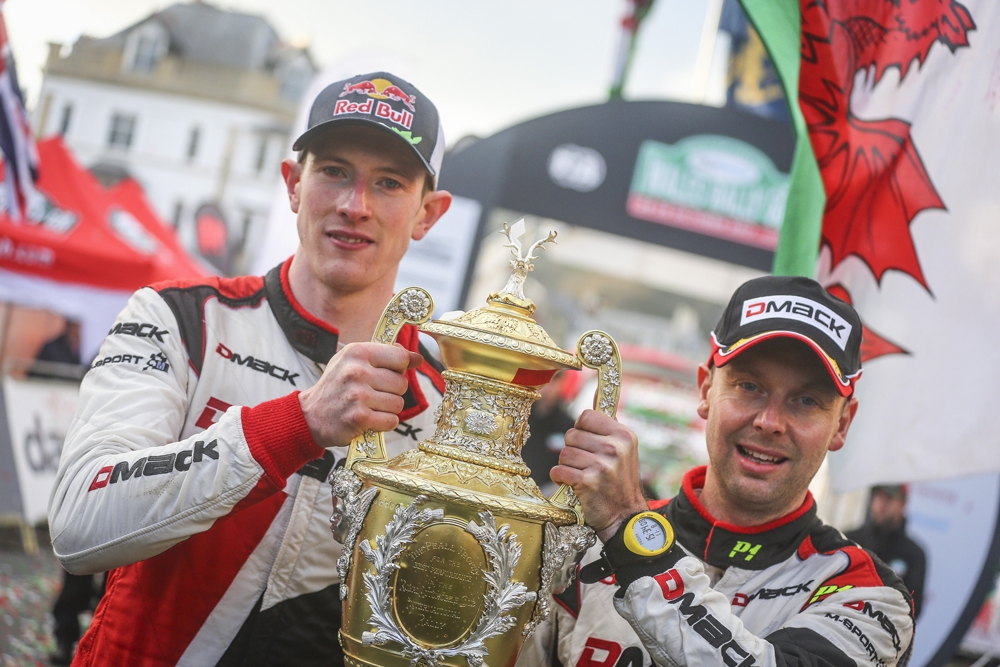 Sebastien Ogier takes his fifth world title and Elfyn Evans seals his first win at Wales Rally GB