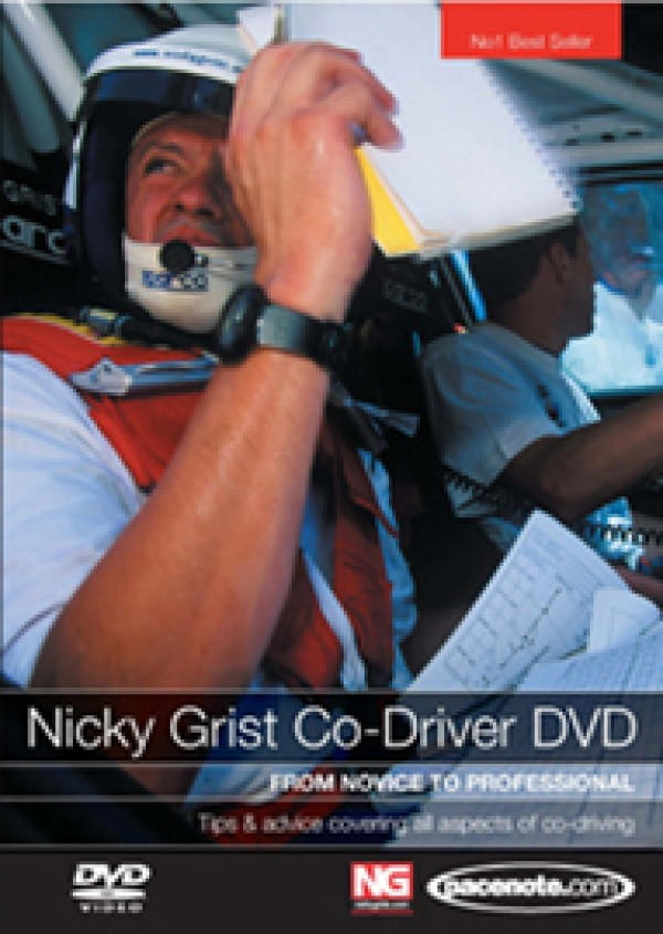 NICKY GRIST CO-DRIVING DVD