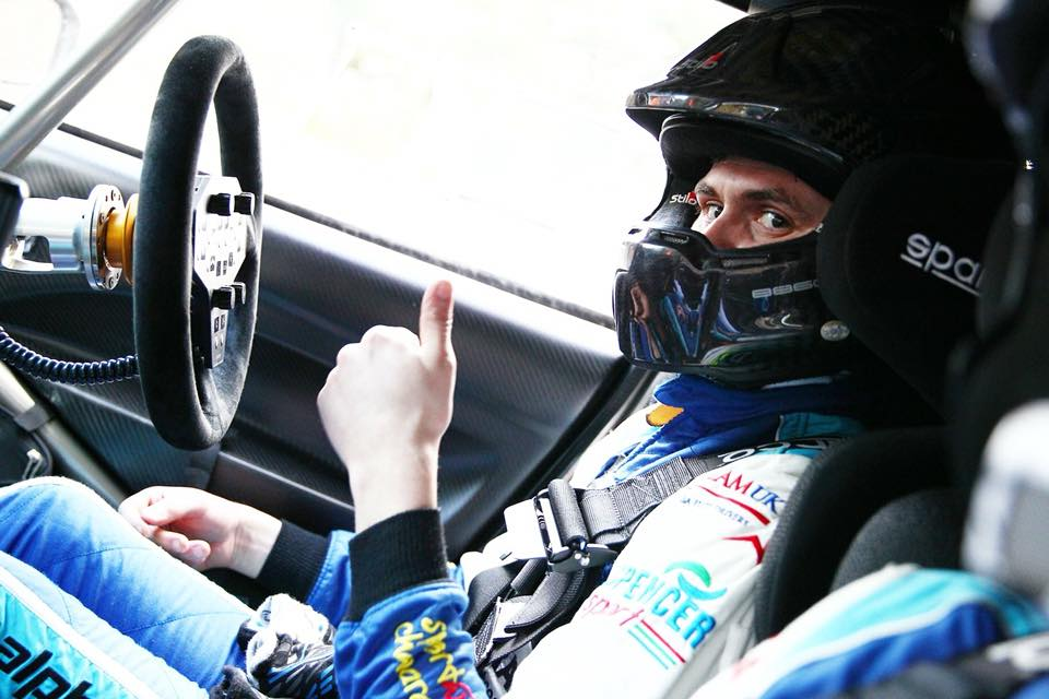 Osian Pryce leads Welsh Forest Rally Championship