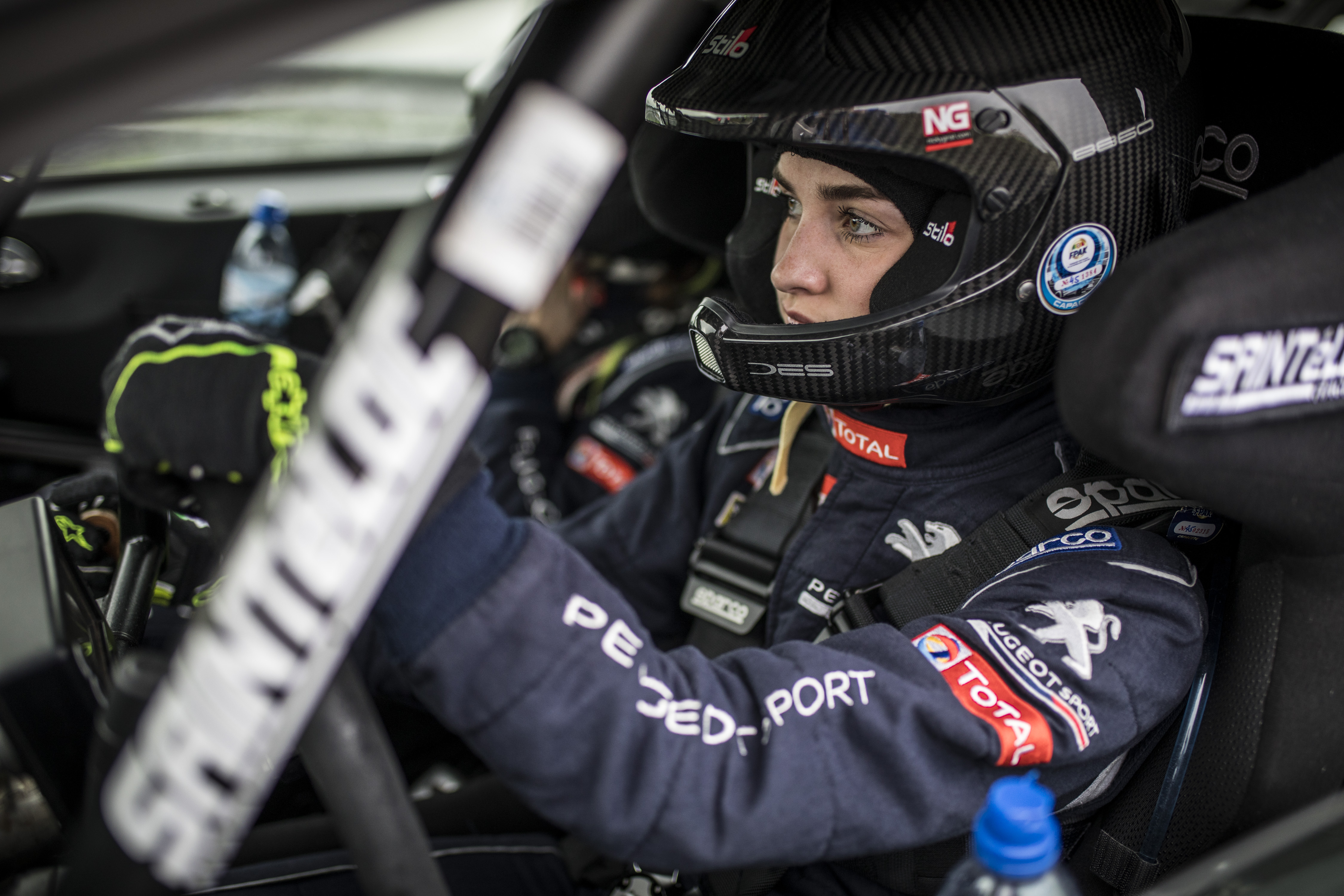 Catie gets ERC Junior Under 27 campaign off to a strong start