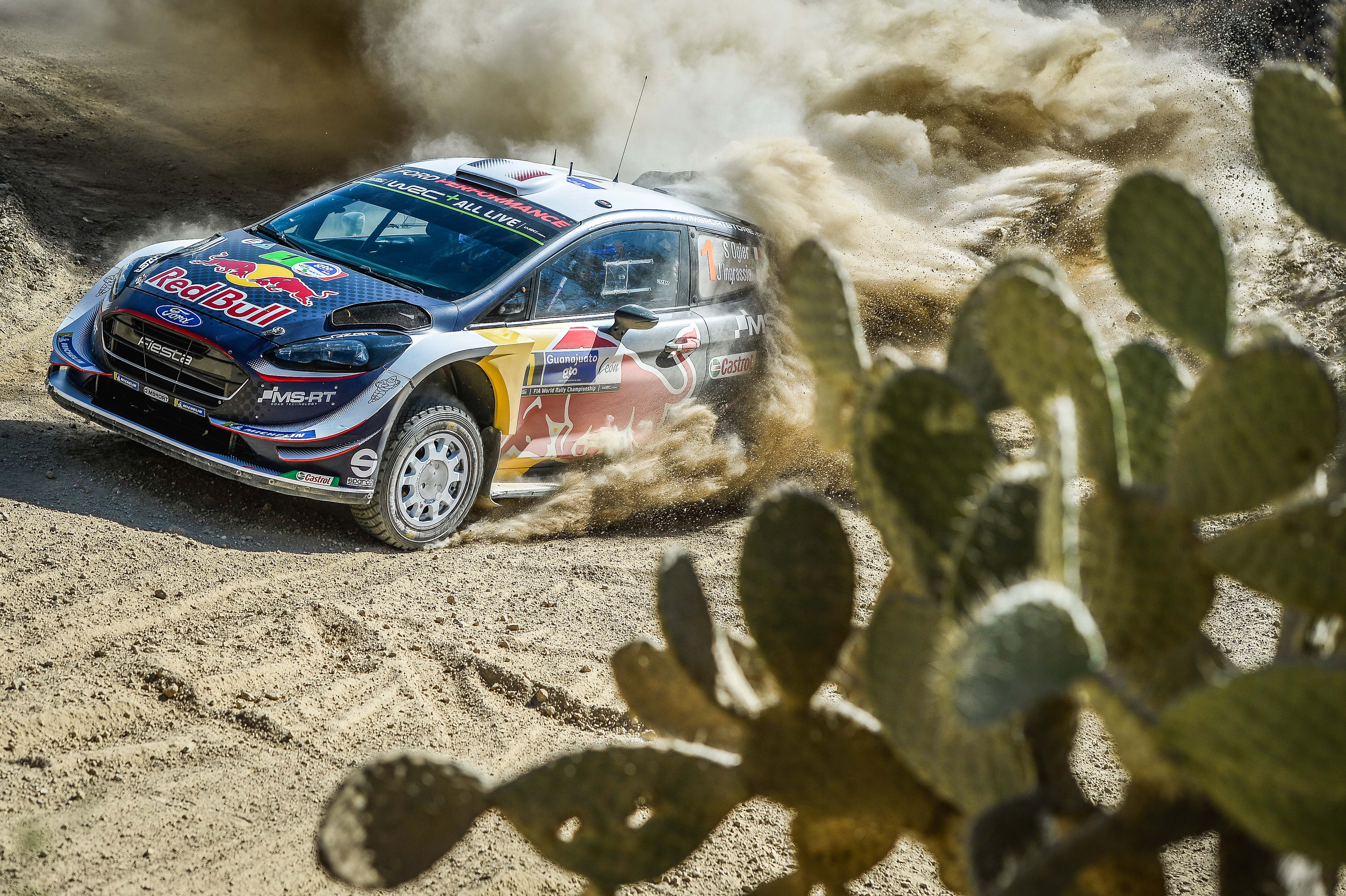 "Ogier ""super happy' with Mexican win"
