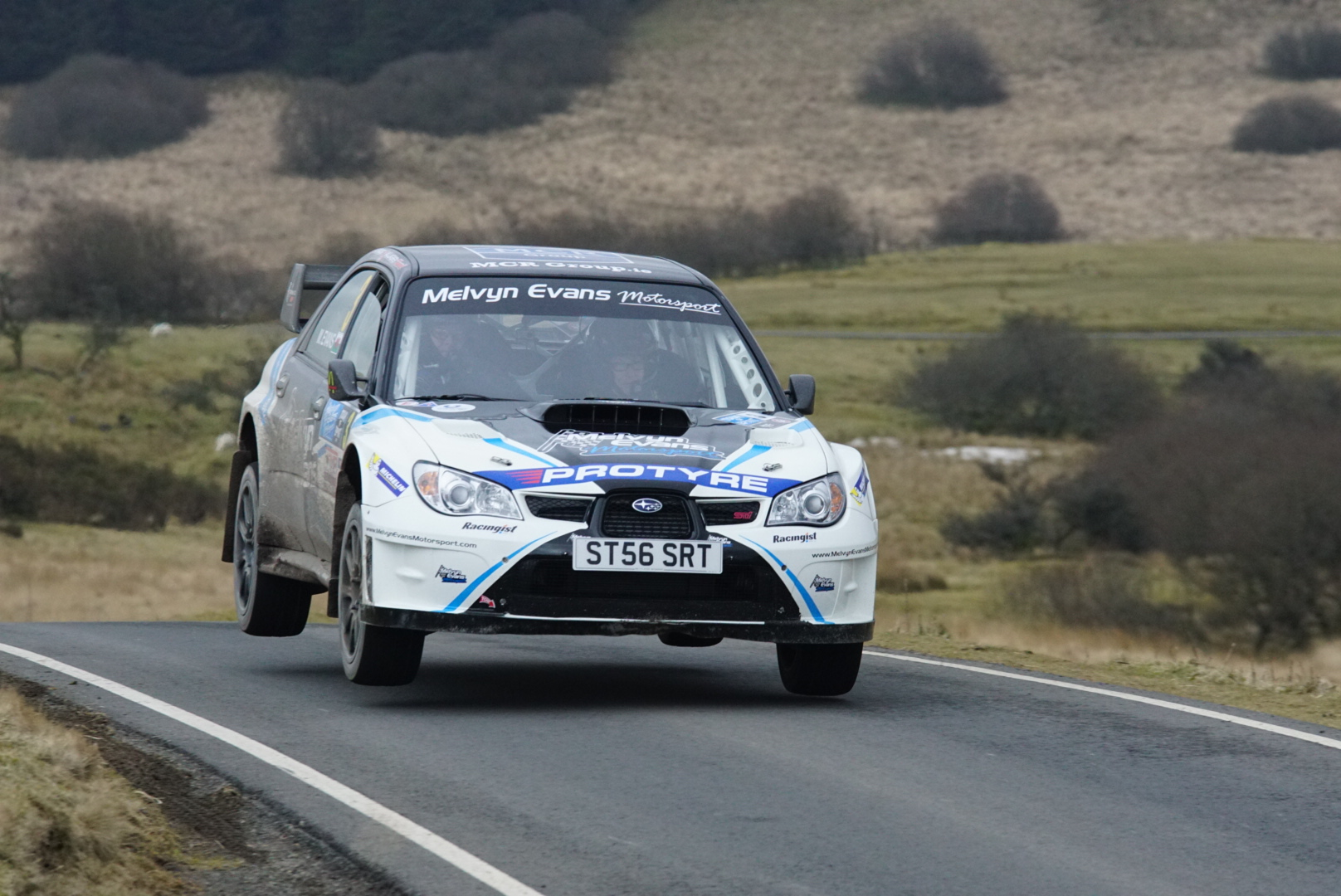 Countdown to England's first closed-road rally
