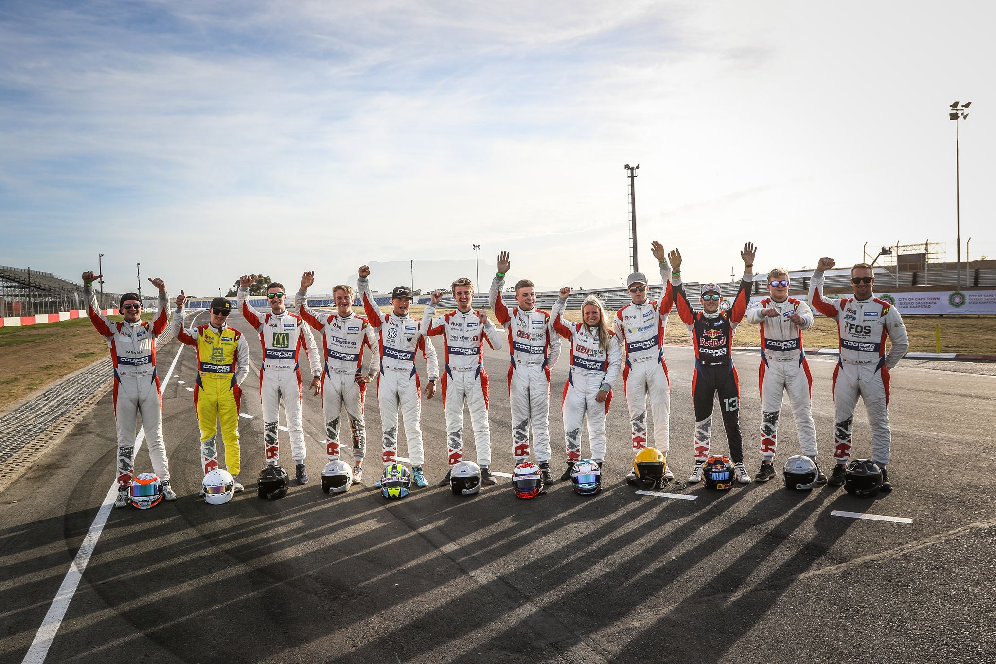 P1 Advanced Racewear continue as official RX2 International Series race suit provider