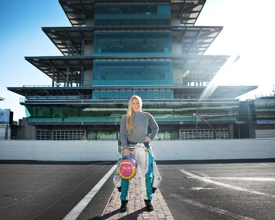Pippa Mann gears up for Indy 500 with Walero