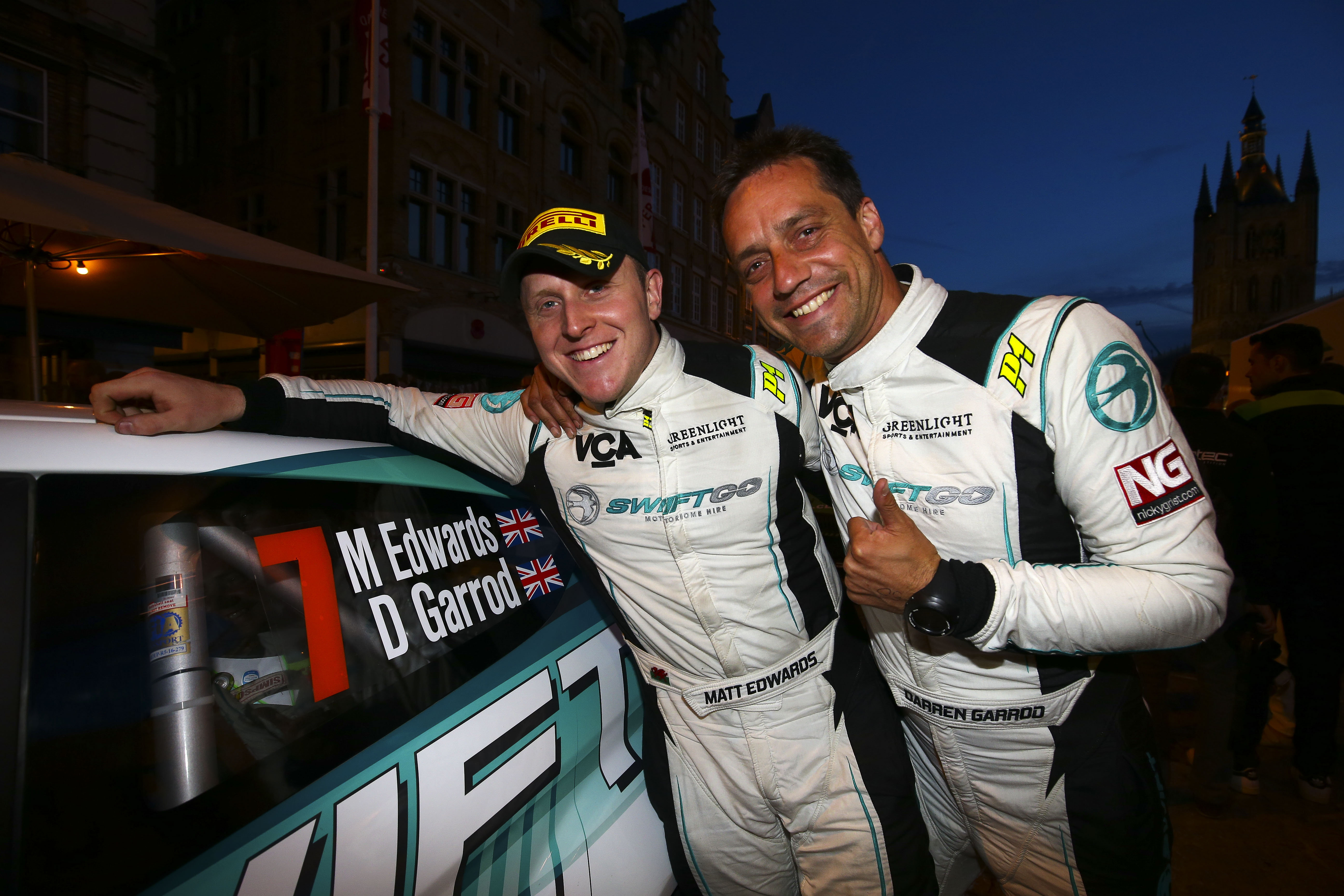 Edwards wins BRC round in Ypres