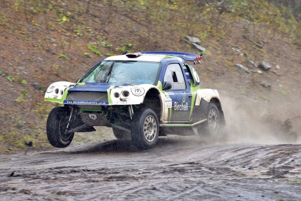 Nicky Grist to give HANS/FHR device advice at the Welsh Hill Rally