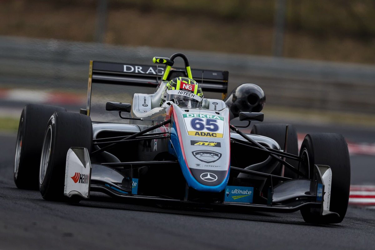 Maiden Euro F3 race win for series leader Ahmed
