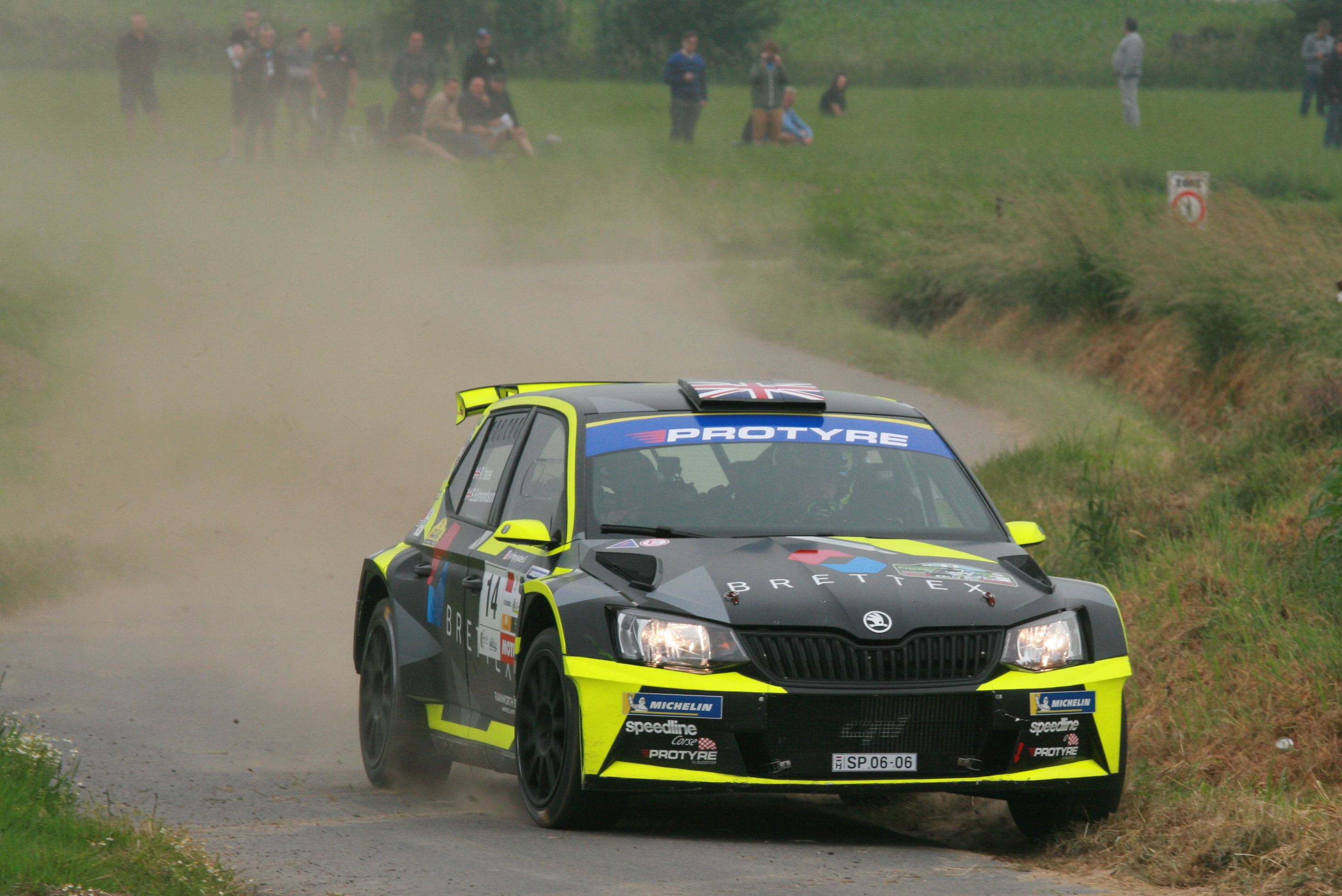 Yates makes history on Rally van Wervik