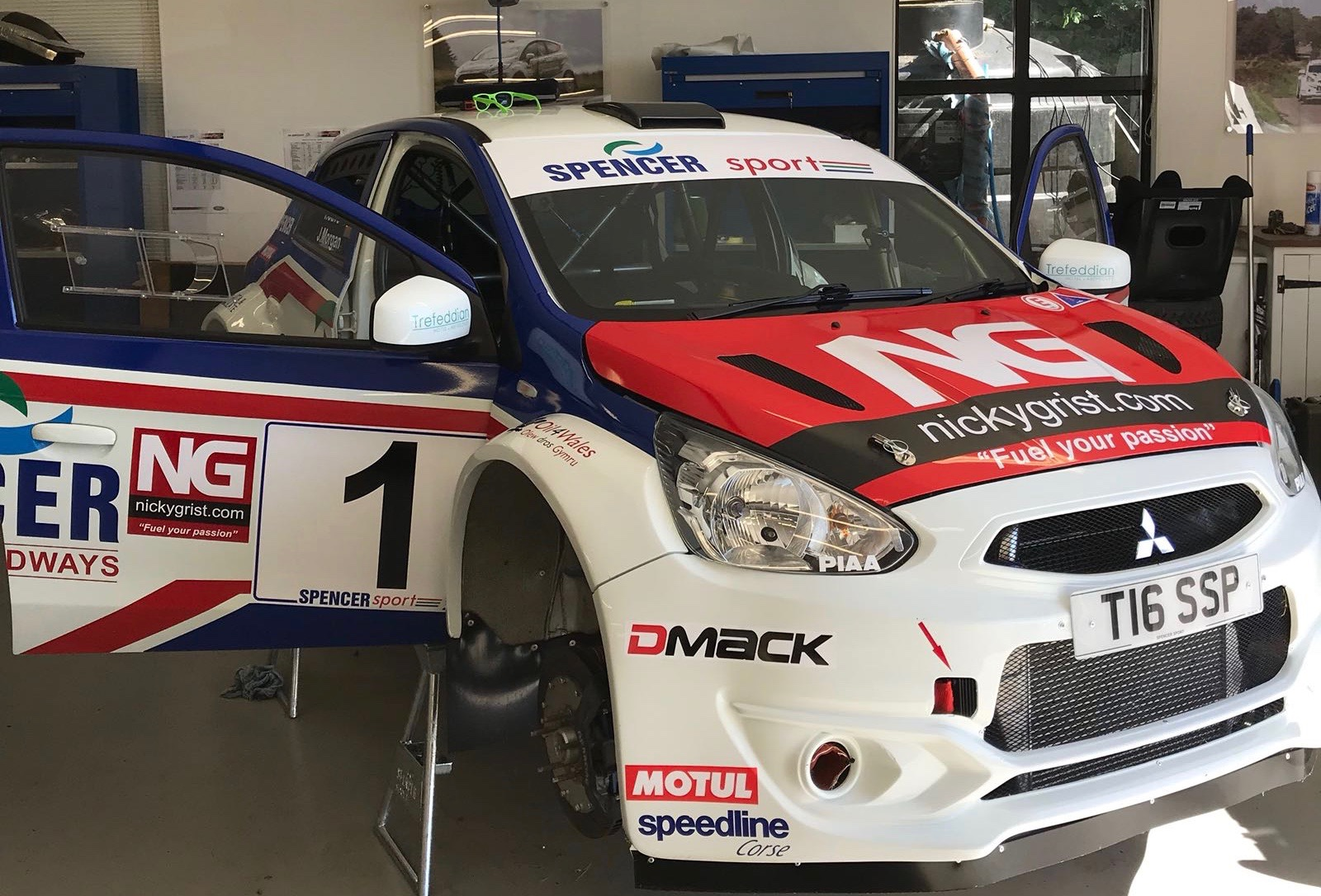Tom Cave to drive Spencer Sport Mirage on Nicky Grist Stages