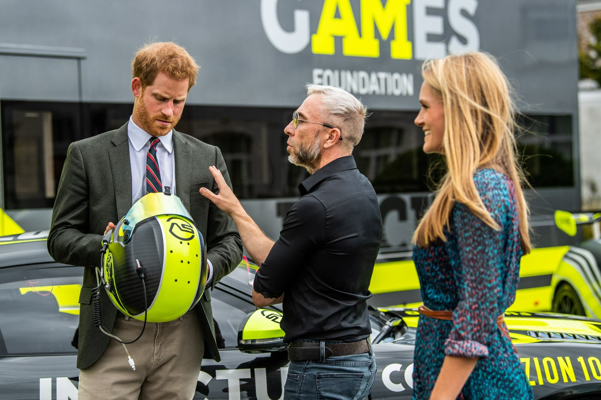 Duke of Sussex visits the Invictus Games Racing team