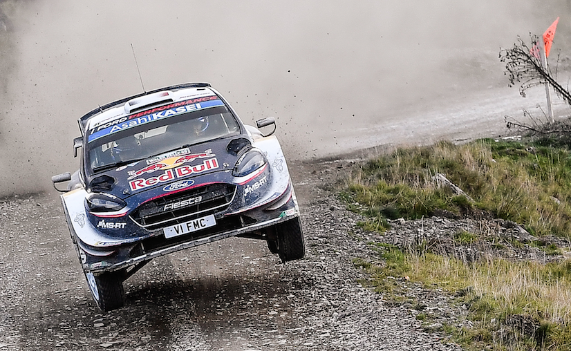 Ogier secures record fifth Rally GB win