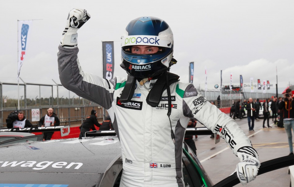 Lloyd crowned inaugural TCR UK Champion