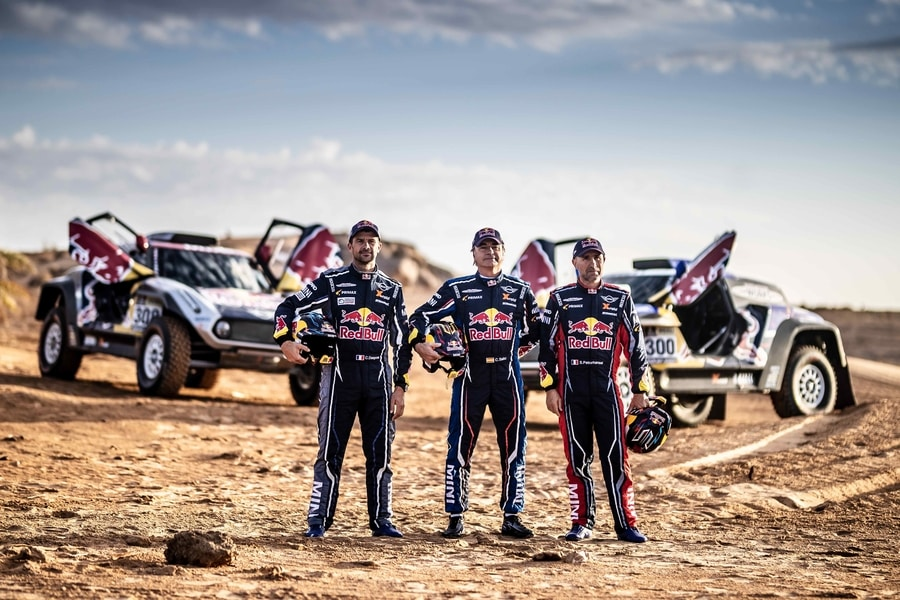 Dakar legends ready for a Mini adventure