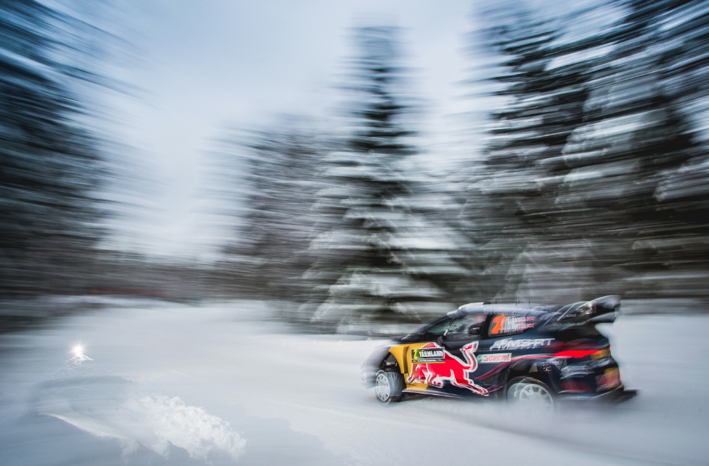 F1 star Bottas to make rally debut – on snow and in a Fiesta WRC!