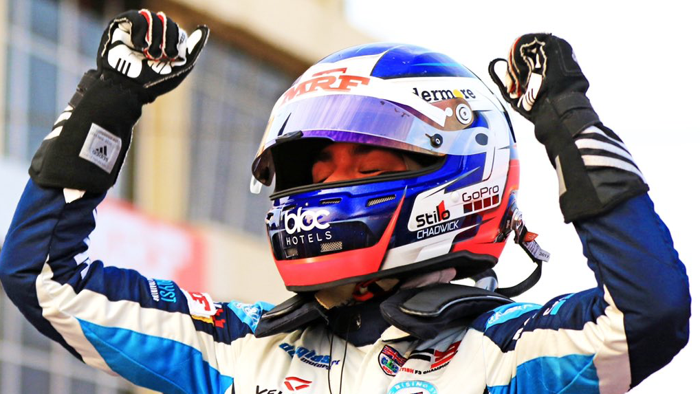 Chadwick clinches MRF Challenge title