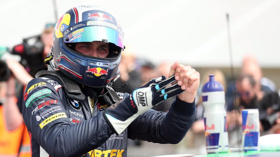 Jordan bounces back with double BTCC win