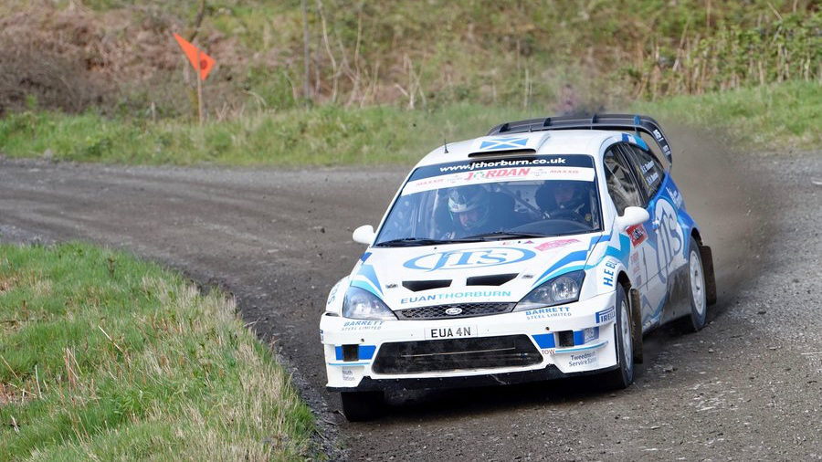 Bumper 130 car Nicky Grist Stages entry