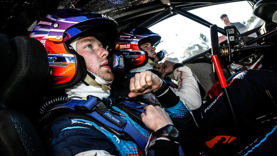 Greensmith steps in for Evans in Germany