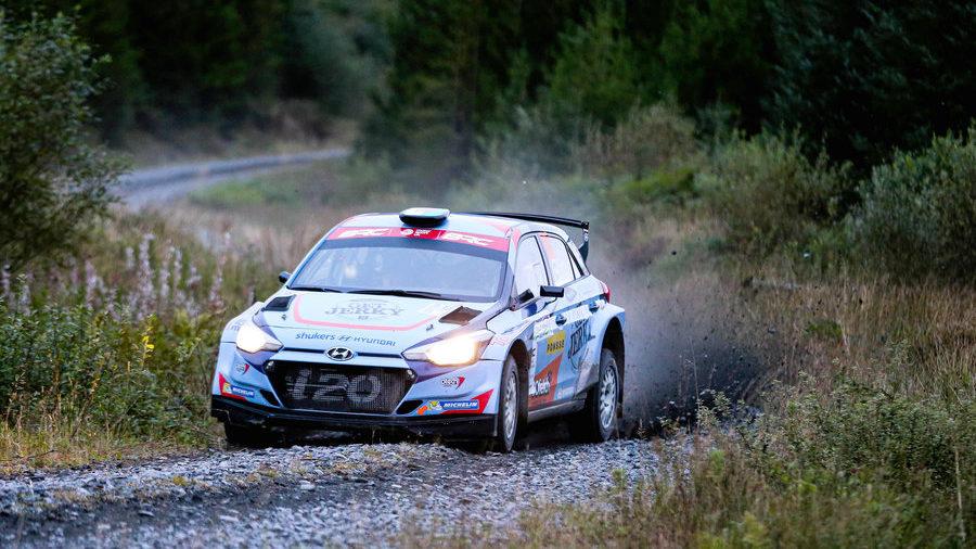 Hyundai drive for McErlean on Wales Rally GB